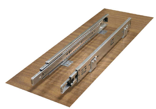 Drawer Slides With Integrated Mounting Bracket