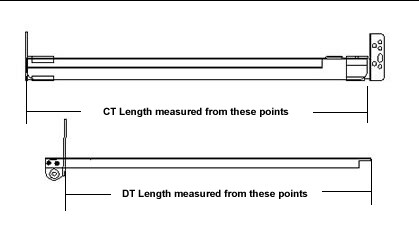 Measuring the GO-EZ slide lengths