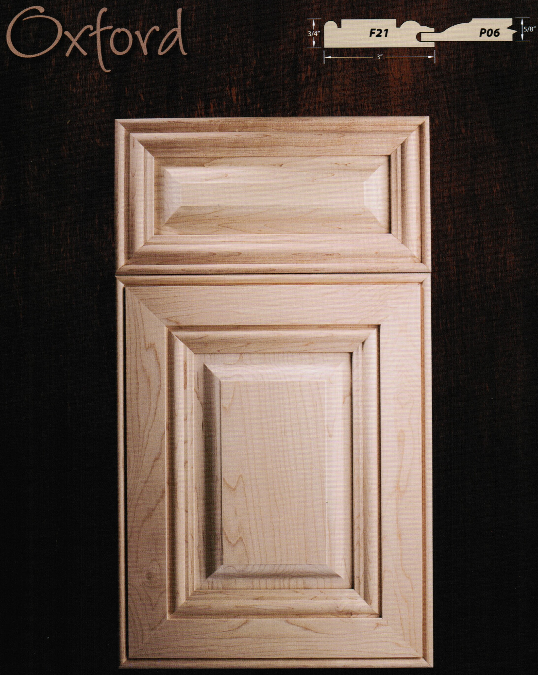 Oxford Miter Door by DuBois