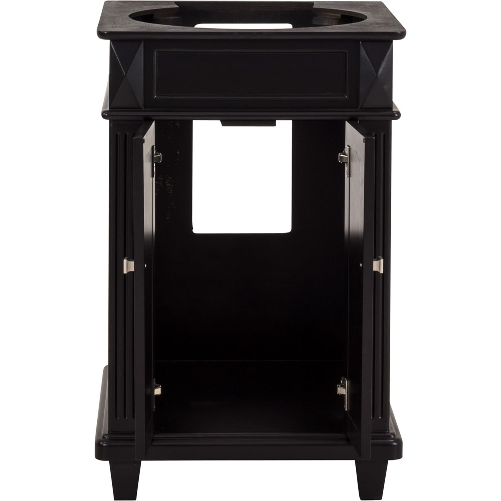 "24"" Douglas vanity in Black without top"