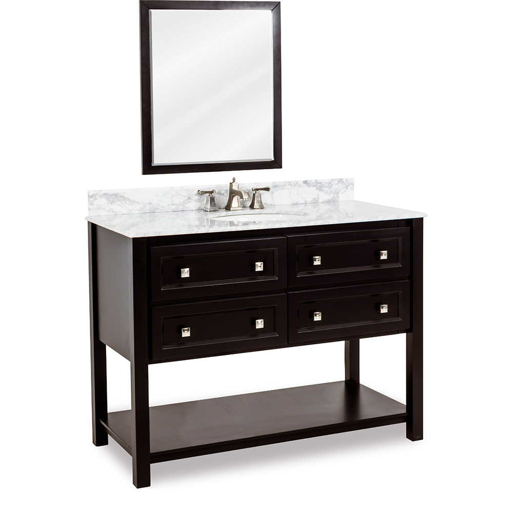 "48"" Adler vanity in Black"