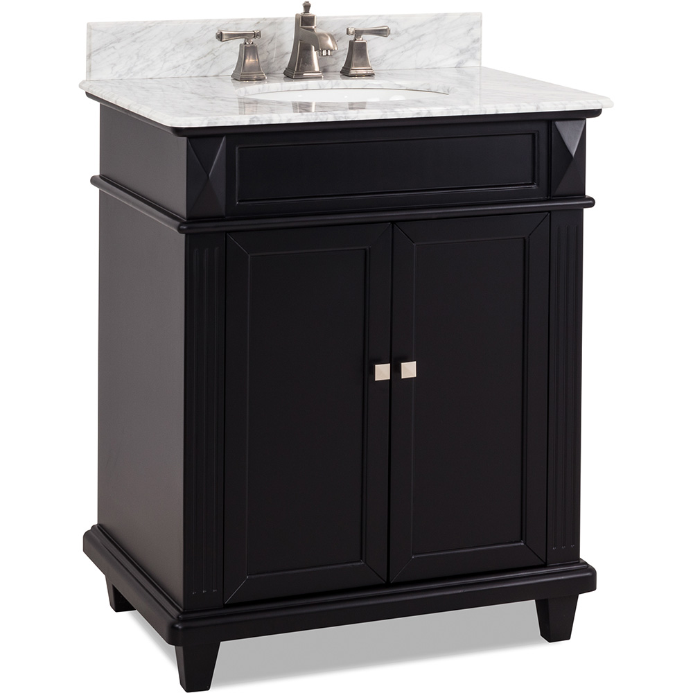 "30"" Douglas vanity in Black finish"
