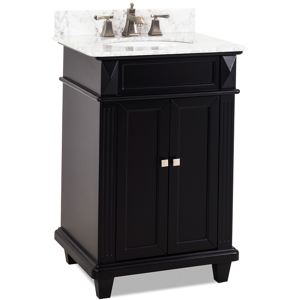 "24"" Douglas vanity in Black finish"
