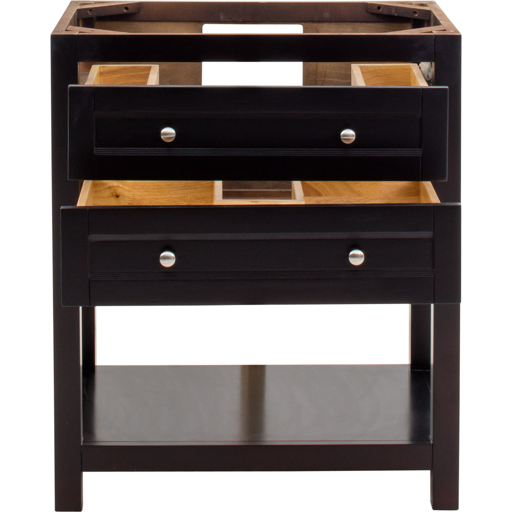 "30"" Astoria Modern vanity in Espresso without top"