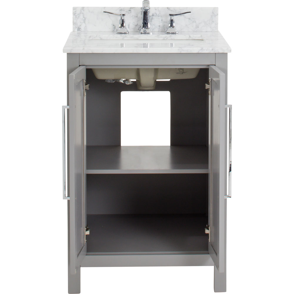 "24"" Cade Contempo vanity in White"