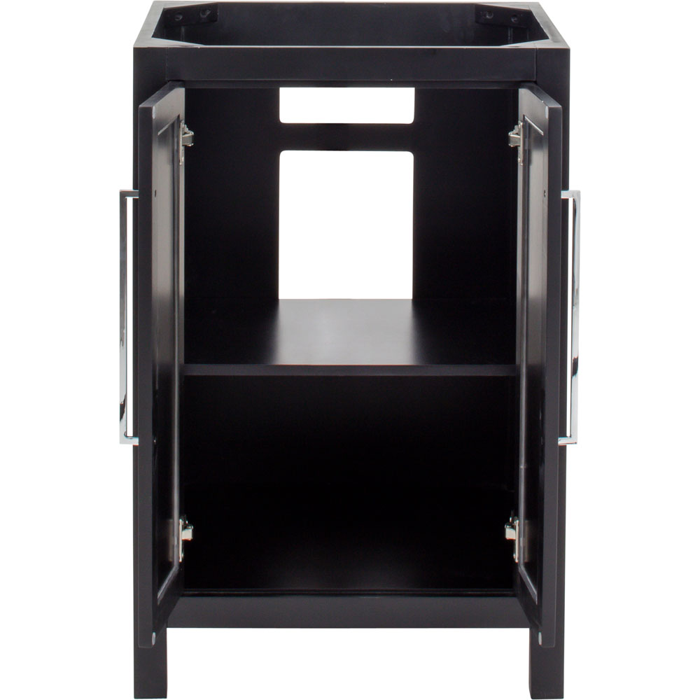 "24"" Cade Contempo vanity in Black"
