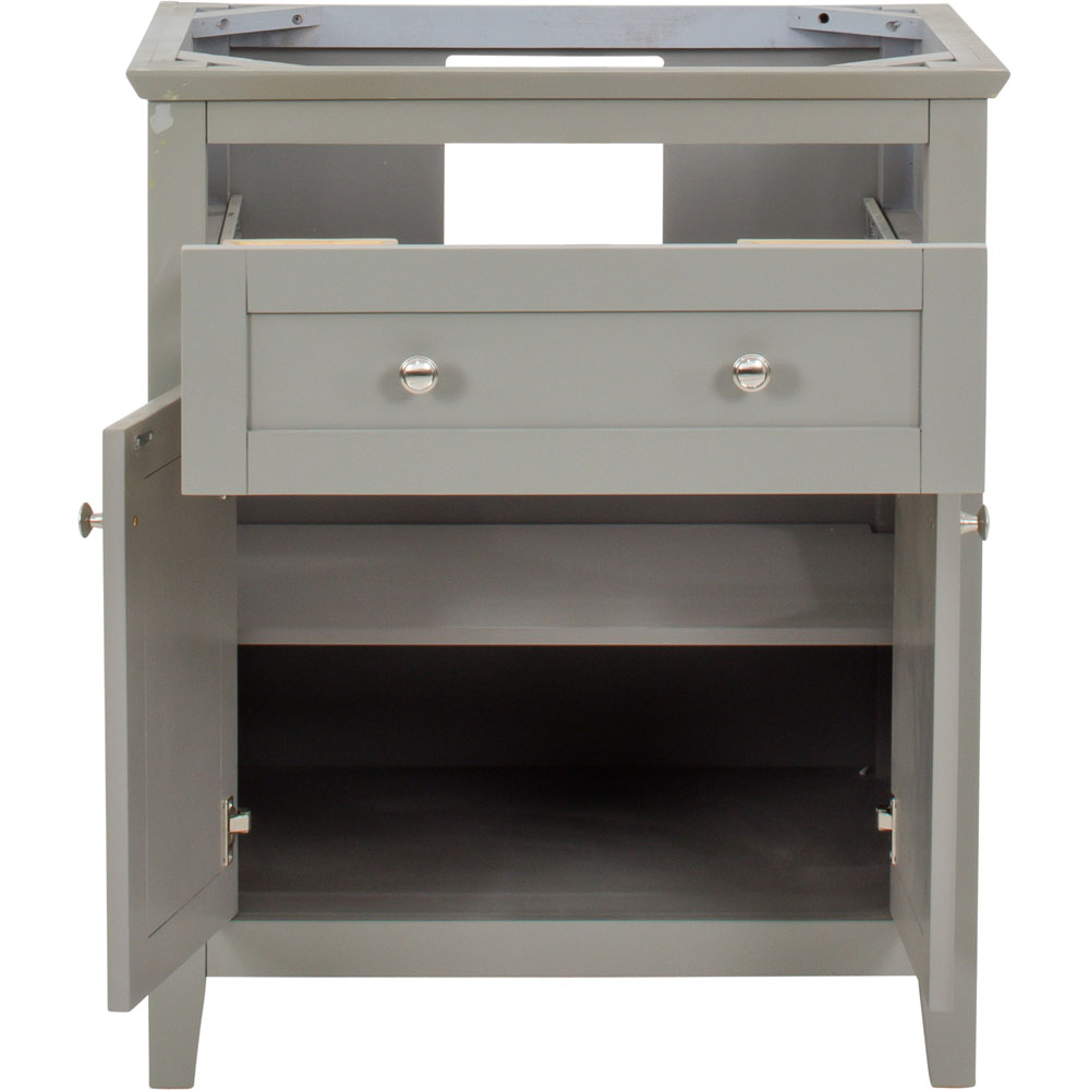 "30"" Chatham Shaker vanity in Grey"