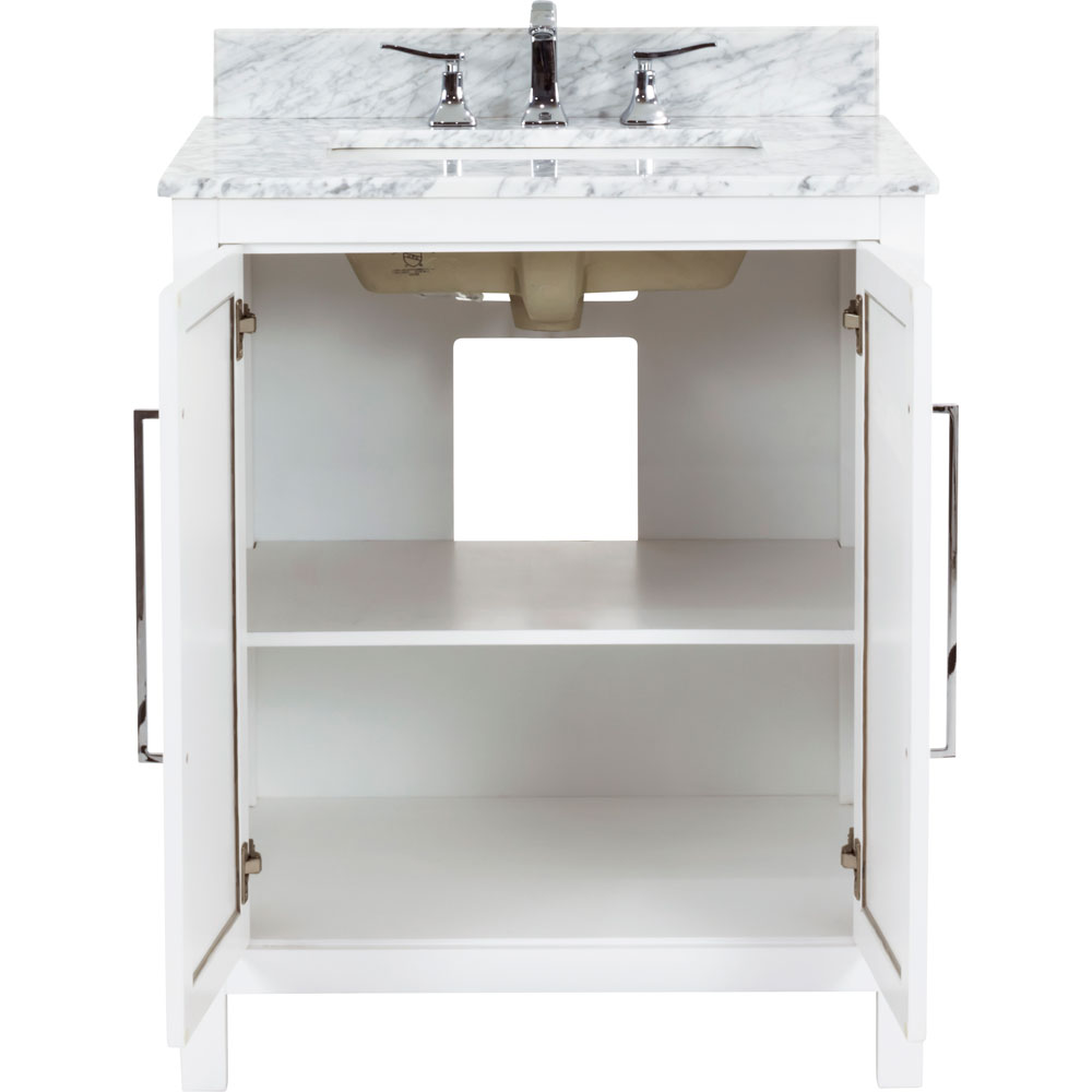 "30"" Cade Contempo vanity in White"