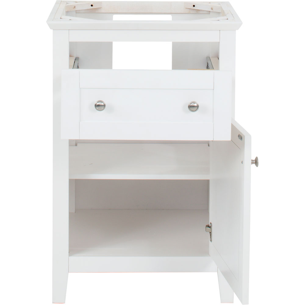 "24"" Chatham Shaker vanity in White"