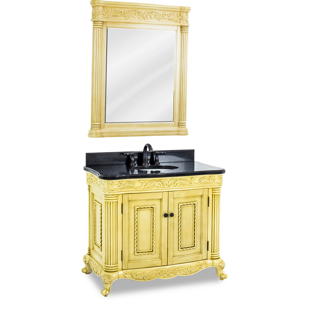 "40"" Vanity in Antique White"