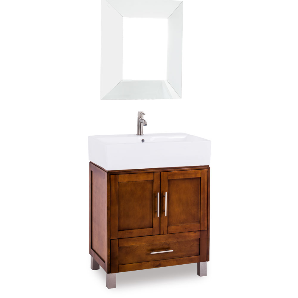"28"" York Vessel Vanity in Chocolate"