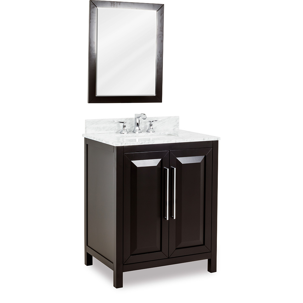 "30"" Cade Contempo vanity in Black"