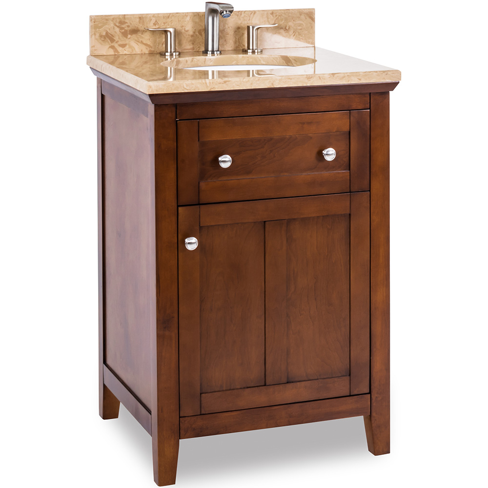 "24"" Chatham Shaker vanity in chocolate"