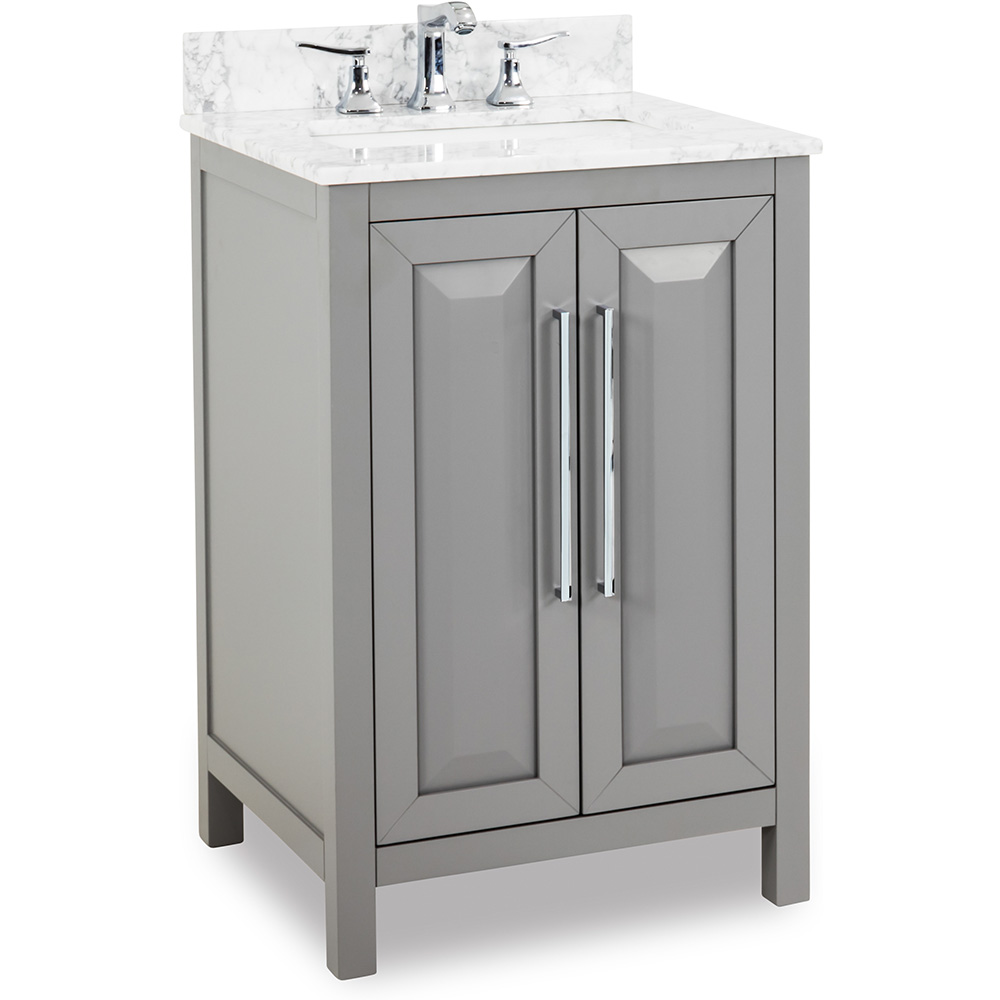 "24"" Cade Contempo vanity in Grey"
