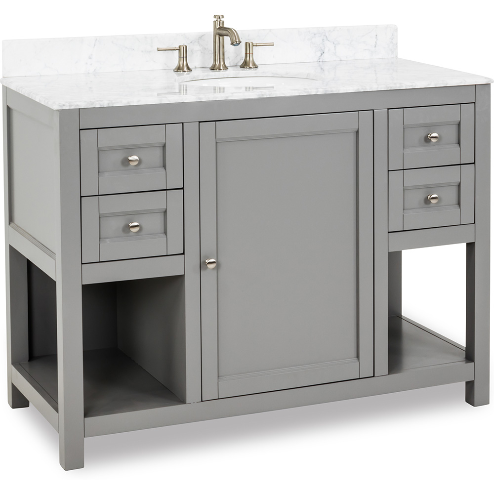 "48"" Astoria Modern vanity in Grey"