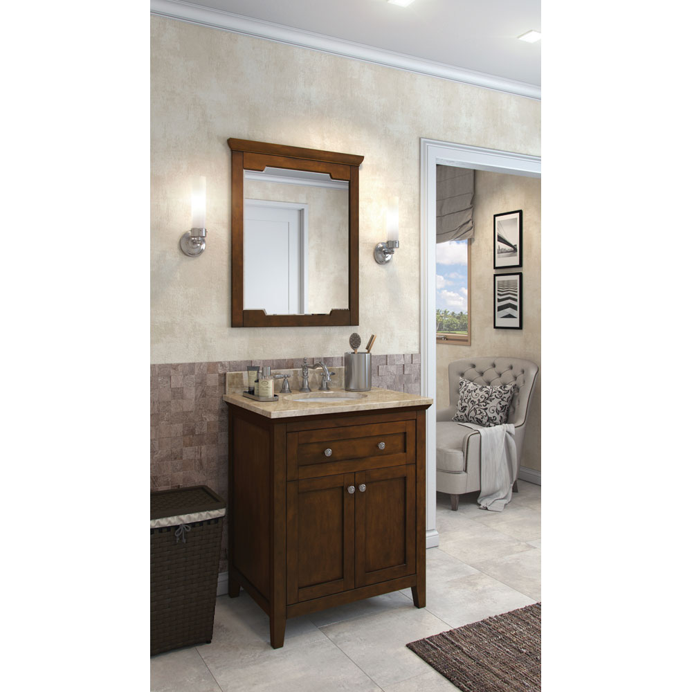 "30"" Chatham Shaker vanity in Chocolate"