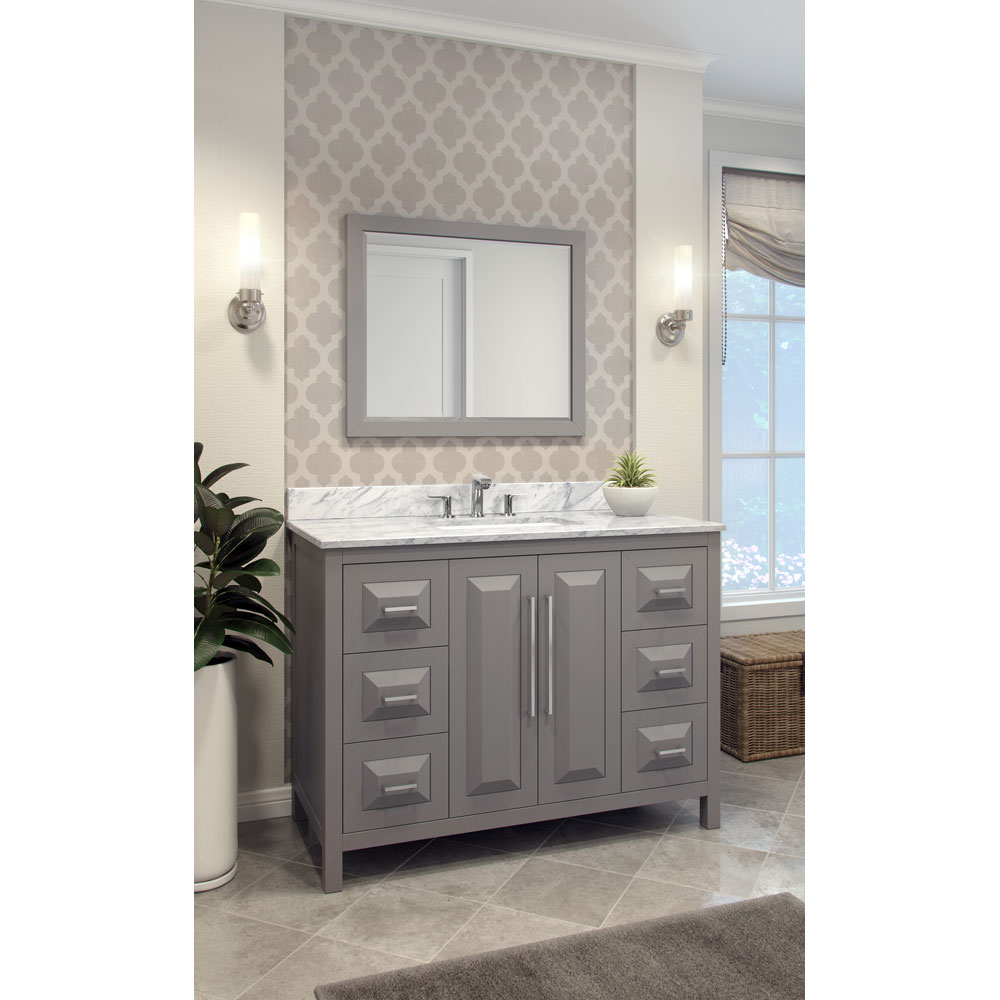 "48"" Cade Contempo vanity in Grey"