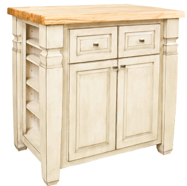Lyn Design kitchen island ISL12-FWH