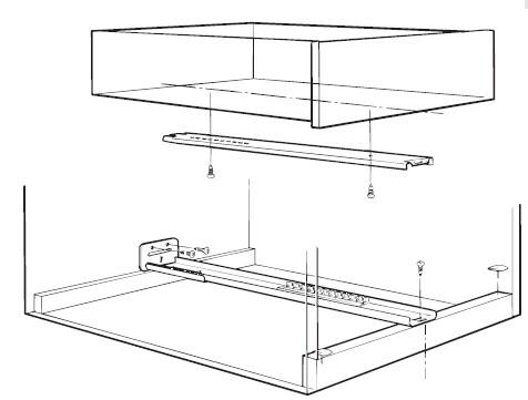 Undermount Drawer Slides 3 4 Extension Fr5090 Xx 7