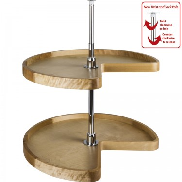 Complete lazy susan in high quality wood
