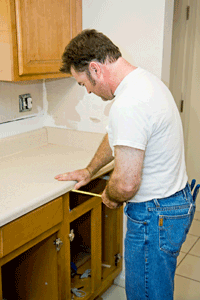 Measuring for new or replacement cabinet doors and drawers