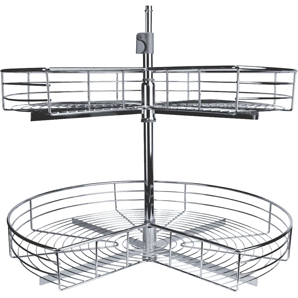 Wire Shelf Kidney Shape Lazy Susan