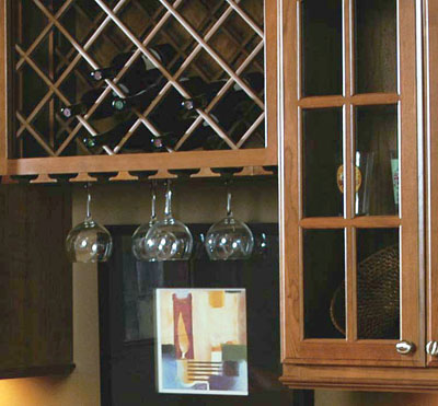 Wine Rack Stemware Moulding