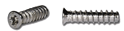 5mm x 13mm system or Pozi screw