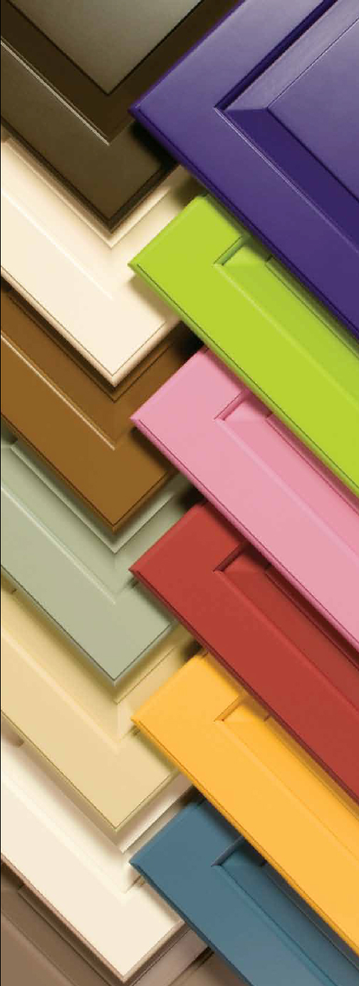 Prism Paints Brilliant Cabinet Door Colors
