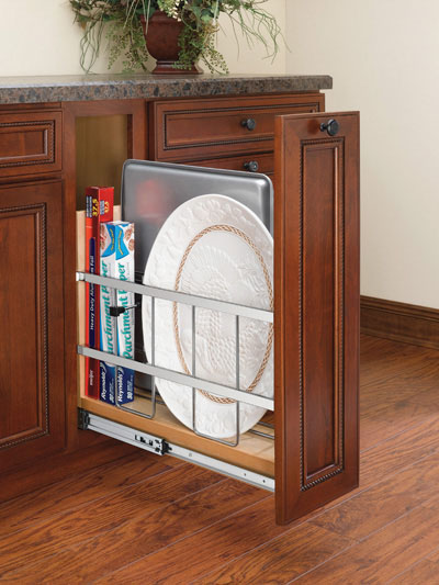 "5"" pullout tray rack"