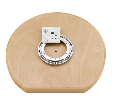 D-Shaped Wooden Lazy Susan bearing mount