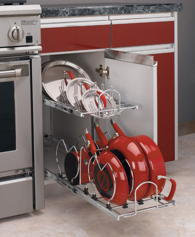 Rev-A-Shelf Pot and pan organizer