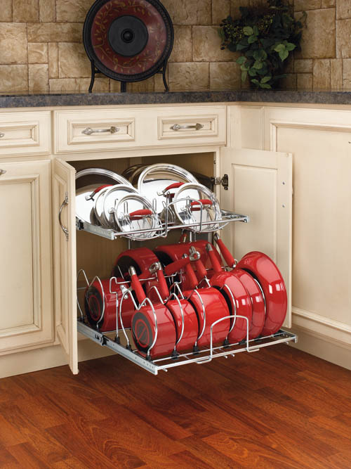 Rev-A-Shelf Large Pot and pan organizer