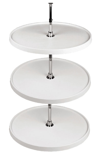 Full Round Lazy Susan w/3 Trays