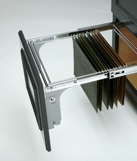 Rev-A-Shelf pullout file drawer system