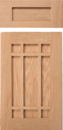 San Raphael Arts and Crafts Style Cabinet Door