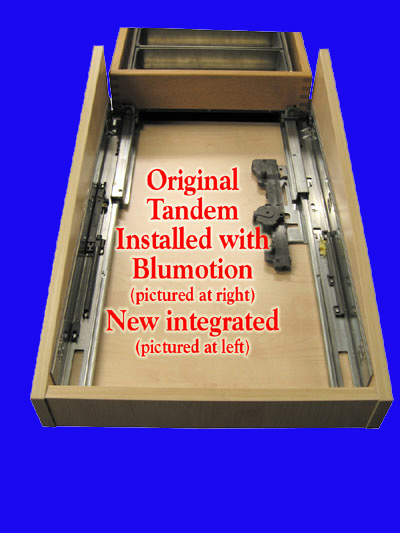 Blum Slides With Integrated Blumotion 9 Blum Tandem