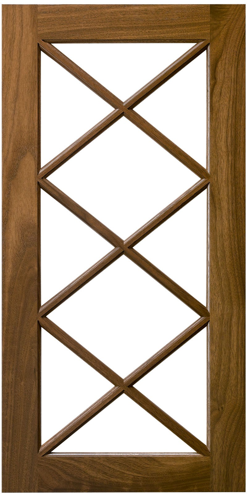 Triple X  Mullion Cabinet Door