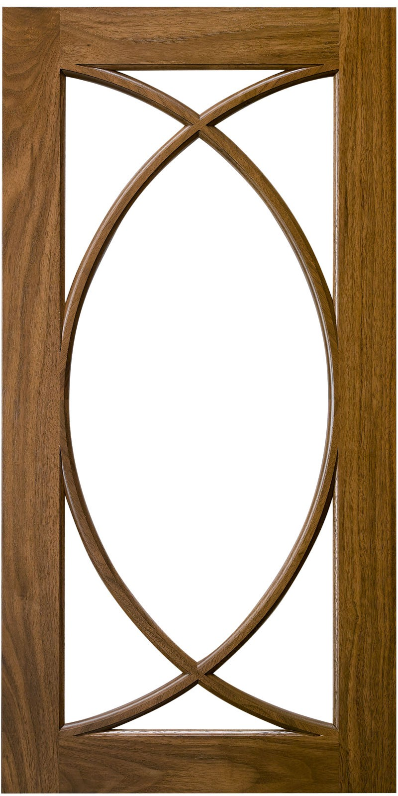 Vesica Mullion Door