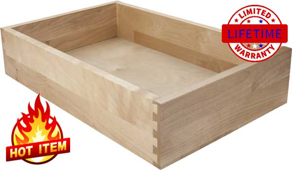 Special Solid Birch Drawers