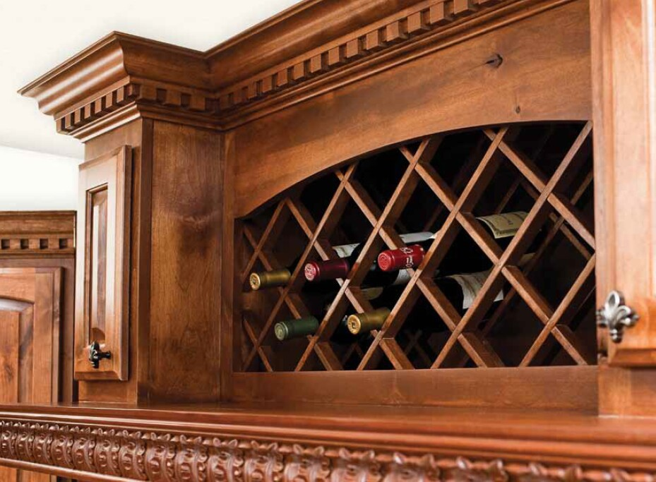 lattice wine rack plans